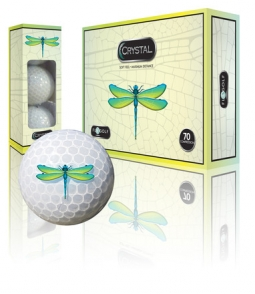 FL Golf Ladies Crystal  Golf Balls (1 Dozen) – Dragonfly