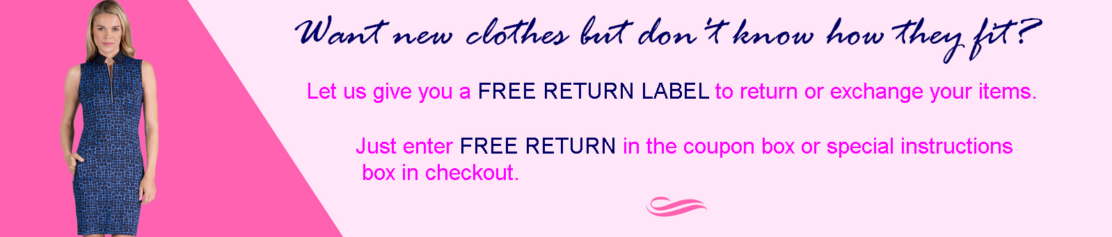 Lori's Golf Shoppe - Free Returns