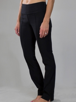 "JoFit Ladies 33.5"" Inseam Jo Slimmer Golf Pants - Sangria (Black)"