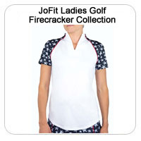 JoFit Ladies Golf Firecracker Collection
