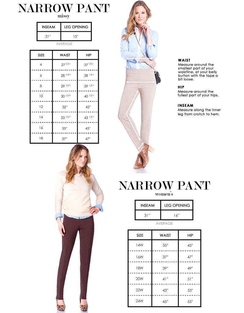 Slimsations Narrow Pants