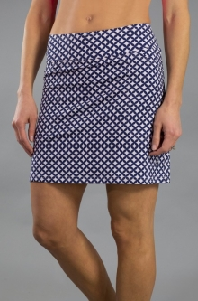 CLEARANCE JoFit Ladies Mina Golf Skorts (Long) - Napa (Diamond Print)