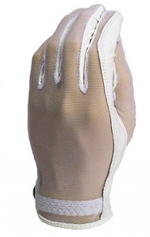 Evertan Lipstick Ladies Golf Gloves - White Pearl (LH Only)