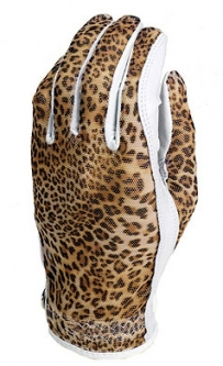 Evertan Ladies Designer Golf Gloves - Ocelot (LH Only)