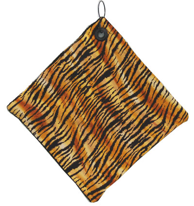 Ladies Golf Towels - Animal Prints