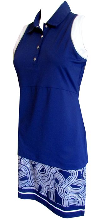 0bf6eb58278 Quick View. EP New York Ladies   Plus Size Golf Outfits (Shirt   Skort) -  SILVER STREAK ...