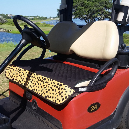 Animal Print Golf Accessories | Accessories Animal Print on golf cart cover, golf cart floor mats, golf cart cargo boxes,