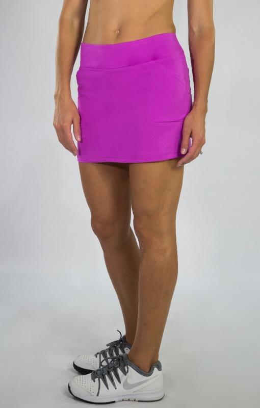 022077dcde CLEARANCE JoFit Ladies Scallop Tennis Skorts - SANGRIA (Lotus Pixel).  $69.00. Quick View